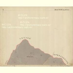 Prerau (Přerow) - m2453-1-007 - Kaiserpflichtexemplar der Landkarten des stabilen Katasters