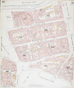 Insurance Plan of Bristol Vol II: sheet 41
