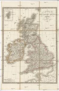 Karte des Brittischen Reichs