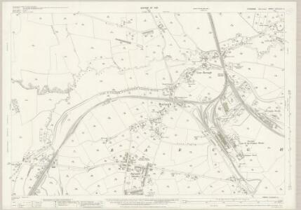 Yorkshire CCLXXIV.2 (includes: Cawthorne; Darton) - 25 Inch Map