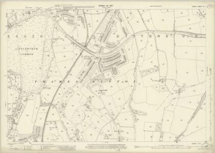 Surrey XII.11 (includes: Thames Ditton) - 25 Inch Map