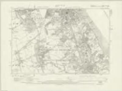Cheshire XIII.SE - OS Six-Inch Map
