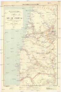 Carta do Sul de Angola compreendendo a regiao situada ao sul do paralello 14\00BA