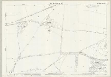 Wiltshire LV.14 (includes: Amesbury; Bulford; Cholderton; Newton Toney) - 25 Inch Map