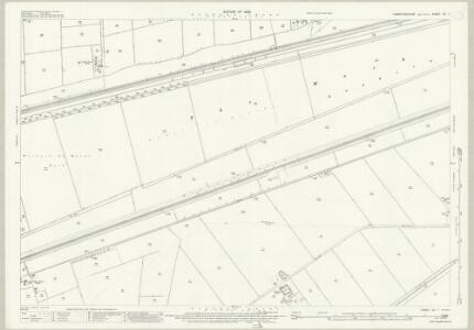 Cambridgeshire XI.7 (includes: Elm; March; Wisbech St Mary) - 25 Inch Map