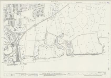Essex (New Series 1913-) n XCV.12 (includes: Thurrock) - 25 Inch Map