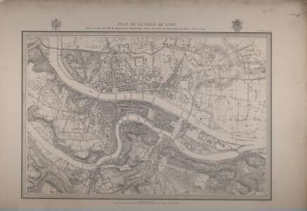 Plan de la ville de Lyon