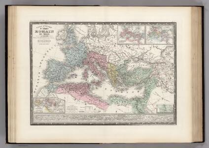 L'Empire Roman sous Theodose.