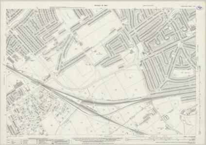 Middlesex X.14 (includes: Ealing St Mary; Harrow; Ruislip) - 25 Inch Map