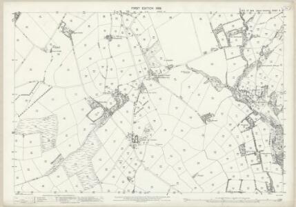 Isle of Man X.16 - 25 Inch Map