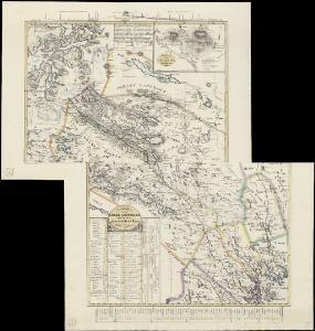 Karta öfver Luleå Lappmark med en del af Norbottens Län
