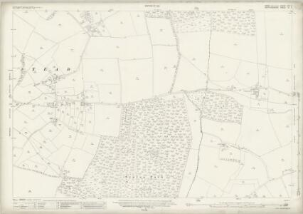 Essex (New Series 1913-) n XII.7 (includes: Langley; Nuthampstead) - 25 Inch Map