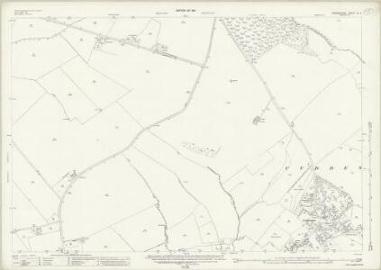 Oxfordshire XL.6 (includes: Cuddesdon; Denton; Garsington; Horspath; Wheatley) - 25 Inch Map