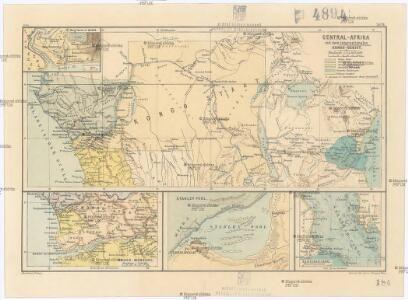Central-Afrika mit dem internationalen Kongo-Gebiet