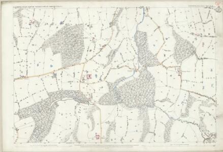 Shropshire VI.11 (includes: Ellesmere Rural; Welshampton) - 25 Inch Map