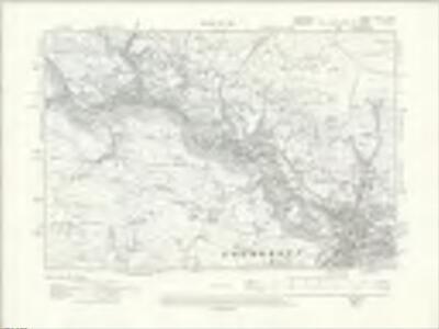 Lancashire LXXIII.NW - OS Six-Inch Map