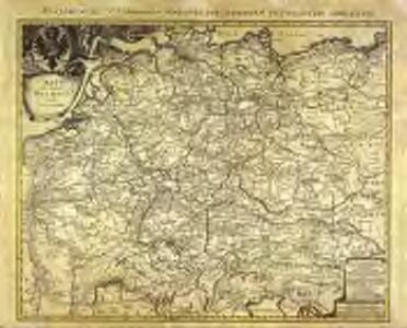 Neu vermehrte Post Charte durch gantz Teutschland nach Italien Franckreich Niederland Preussen Polen und Ungarn etc