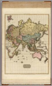 The World on Mercator's projection, eastern part.