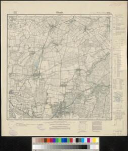Meßtischblatt 1031 : Glinde, 1933
