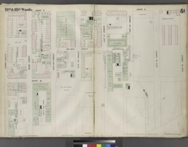 Plate 46: Map bounded by East 15th Street, East River, Eighth Street, Avenue C.