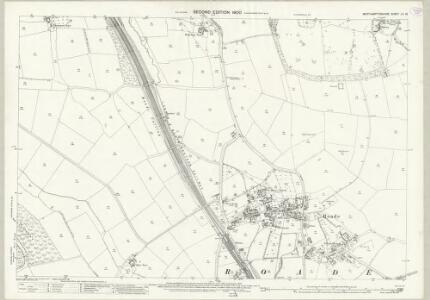 Northamptonshire LII.13 (includes: Courteenhall; Roade; Stoke Bruerne) - 25 Inch Map