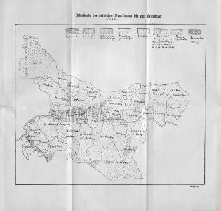 Flurkarte des steirischen Draulandes bis zur Drauenge