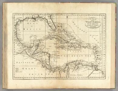 Chart of the West Indies.