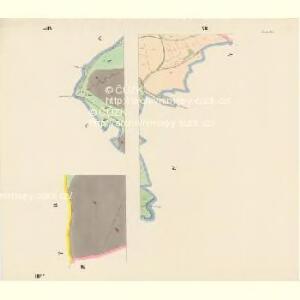 Krenau - c3622-1-011 - Kaiserpflichtexemplar der Landkarten des stabilen Katasters