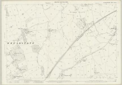 Gloucestershire XLVIII.10 (includes: Cam; Hamfallow; Slimbridge; Stinchcombe) - 25 Inch Map