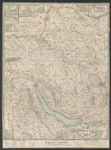 Canton Zürich mit seinen nähern Angränzungen