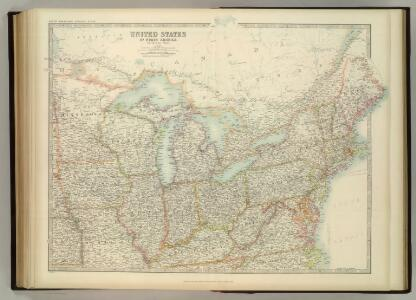 United States of North America (North East Sheet).