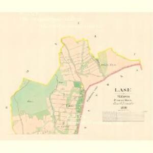 Lase - m1481-1-001 - Kaiserpflichtexemplar der Landkarten des stabilen Katasters