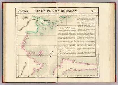 Partie, Borneo. Oceanique no. 14.