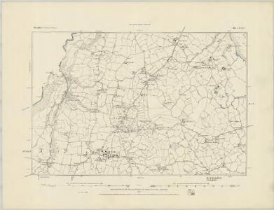 Shropshire V.SW - OS Six-Inch Map