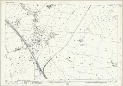 Staffordshire XVII.5 (includes: Madeley) - 25 Inch Map