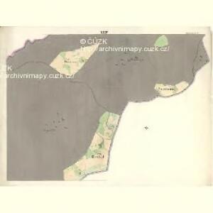 Ostrawitz - m2189-1-021 - Kaiserpflichtexemplar der Landkarten des stabilen Katasters