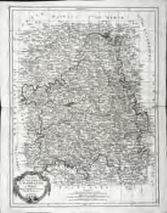 Carte du gouvernement de Champagne et Brie