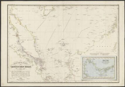 Reduzirte Karte vom Chinesischen Meere, 1.stes oder Südliches Blatt