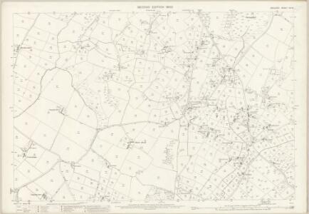 Anglesey XIII.16 (includes: Llanddyfnan; Llangefni; Penmynydd; Pentraeth) - 25 Inch Map
