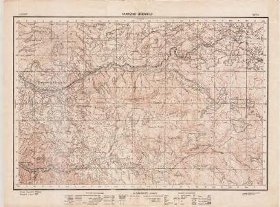 Lambert-Cholesky sheet 3674 (Mureşenii Bîrgăului)