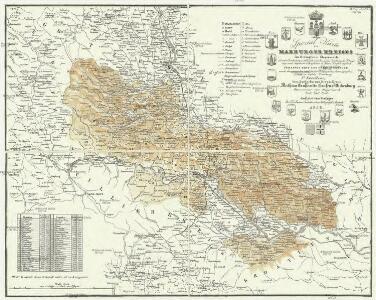 Special Karte des Marburger Kreises im Herzogthume Steyermark