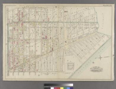 Plate 27: Part of Wards 9 & 24. Brooklyn, N.Y.