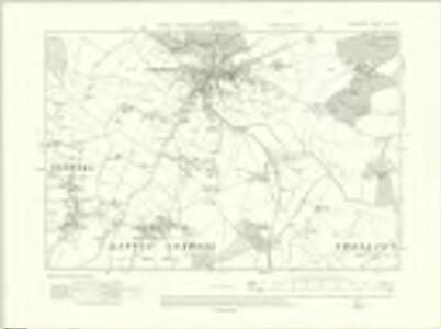 Berkshire VIII.SW - OS Six-Inch Map