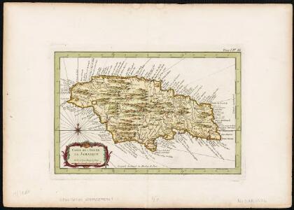 Carte de l'Isle de la Jamaique