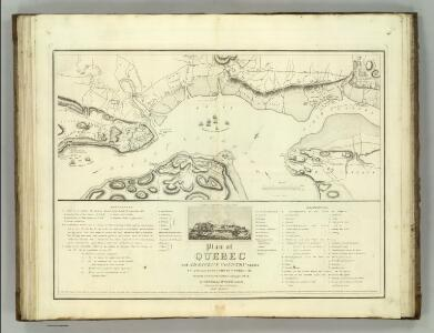 Quebec and Adjacent Country ... during the Siege by General Wolfe in 1759.