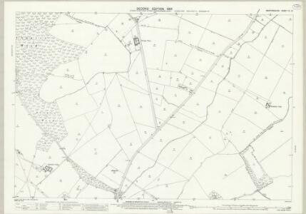 Bedfordshire IV.12 (includes: Bolnhurst and Keysoe; Melchbourne and Yelden; Riseley; Swineshead) - 25 Inch Map