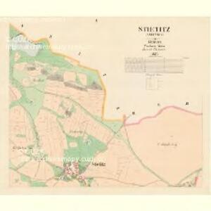 Stietitz (Stietice) - c7782-1-002 - Kaiserpflichtexemplar der Landkarten des stabilen Katasters