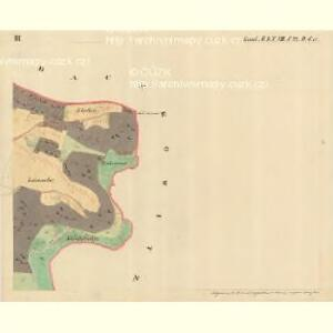 Dantschowitz - m0415-1-003 - Kaiserpflichtexemplar der Landkarten des stabilen Katasters
