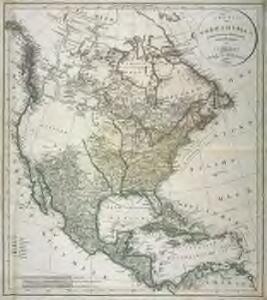 Charte von Nordamerica