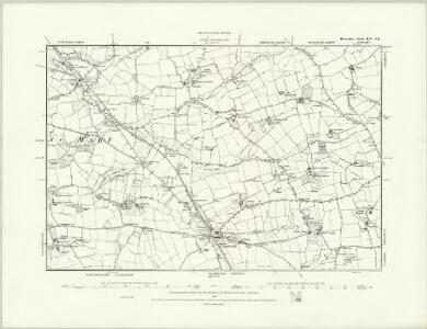 Devonshire LIV.SW - OS Six-Inch Map